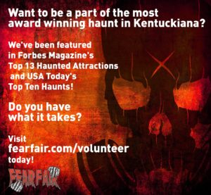 Fear Fair - Indiana's Scariest Haunted House 2016 Casting Call