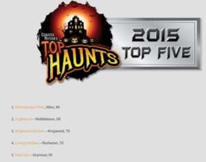 Fear Fair 2015 Coaster Nation Top Five Haunted Attractions
