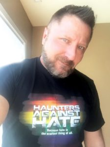 Haunters Against Hate Shirt Black
